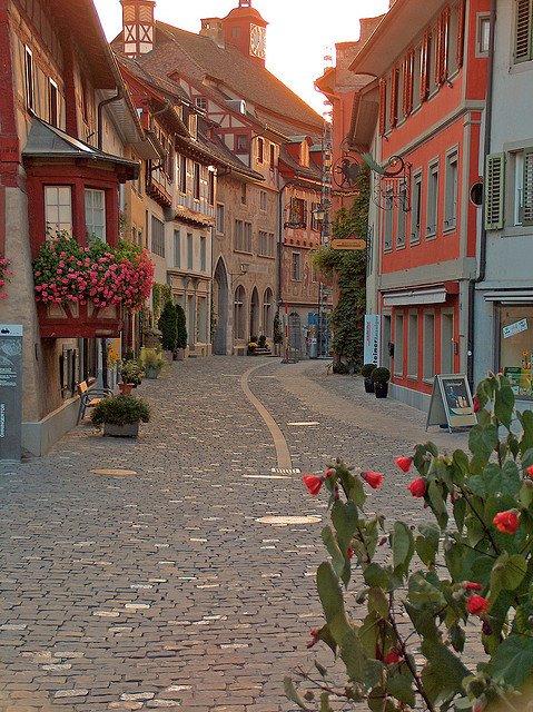 Cidade de Stein am Rhein, Suíça