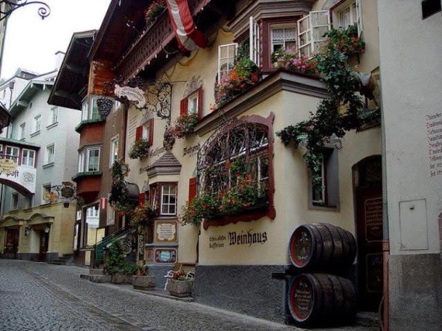 Cidade de Tyrol , Austria