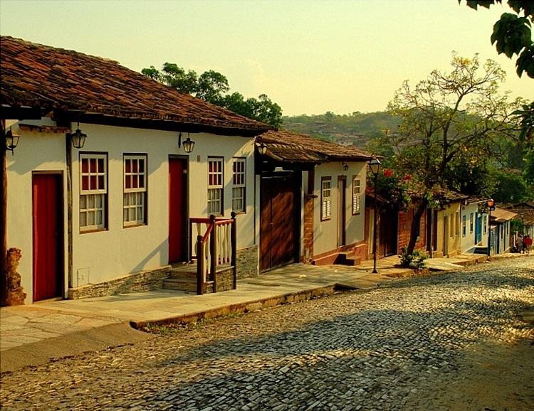 Cidade de Pirenópolis, Brasil