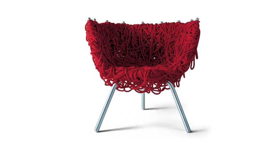 Cadeira Vermelha, dos irmãos Campana