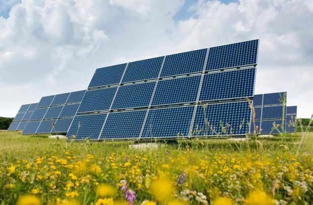 Placas convencionais de captação de energia solar